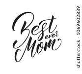 mothers day. mother's day... | Shutterstock .eps vector #1069602839