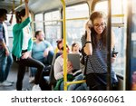 diverse group of people is... | Shutterstock . vector #1069606061