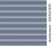 blue monochrome geometrical... | Shutterstock .eps vector #1069621835