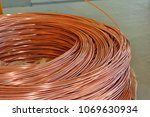 copper wire rod | Shutterstock . vector #1069630934