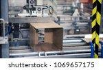 cardboard package box packing... | Shutterstock . vector #1069657175