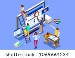 isometric people images to...