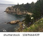 dramatic cliffs of new south... | Shutterstock . vector #1069666439