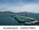 city of isparta egirdir lake...   Shutterstock . vector #1069679801