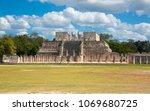 mexico  chichen itz   yucat n....   Shutterstock . vector #1069680725
