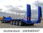 heavy load trucks   Shutterstock . vector #1069685447