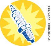 illustration of a spark plug... | Shutterstock . vector #10697566