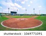 Small photo of Taichung, Taiwan - Apr 14 2018 in Taichung, Taiwan. Taichung Intercontinental Baseball Stadium