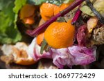 inside of a composting container | Shutterstock . vector #1069772429