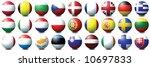 27 coloured balls representing... | Shutterstock . vector #10697833