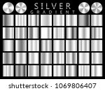 silver background texture... | Shutterstock .eps vector #1069806407