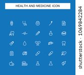 health line icons | Shutterstock .eps vector #1069842284
