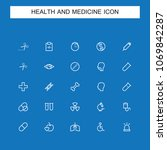 health line icons | Shutterstock .eps vector #1069842287