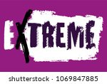 off road extreme hand drawn... | Shutterstock .eps vector #1069847885