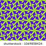 minimalist geometric seamless... | Shutterstock .eps vector #1069858424
