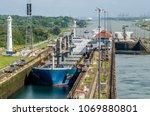 panama city  panama   february... | Shutterstock . vector #1069880801