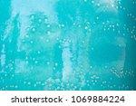 close up handmade glazed... | Shutterstock . vector #1069884224