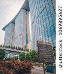 singapore   april 2  2018 ... | Shutterstock . vector #1069895627