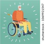 vector cartoon illustration of... | Shutterstock .eps vector #1069921547