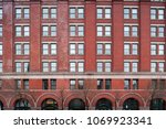 new york  ny  usa april 6 2018  ... | Shutterstock . vector #1069923341