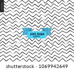 hand drawn black and white...   Shutterstock .eps vector #1069942649