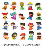 cartoon vector illustration of... | Shutterstock .eps vector #1069962284