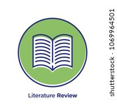literature related offset style ... | Shutterstock .eps vector #1069964501