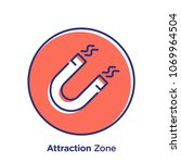 attraction related offset style ... | Shutterstock .eps vector #1069964504