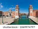venice  italy   april 21  2016  ... | Shutterstock . vector #1069974797