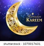 ramadan greetings vector   Shutterstock .eps vector #1070017631