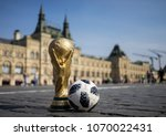 april 16  2018 moscow. russia... | Shutterstock . vector #1070022431