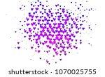 light pink  blue vector...   Shutterstock .eps vector #1070025755