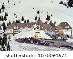 aerial image of timberline...   Shutterstock . vector #1070064671