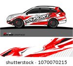 vehicle graphics for suv wrap...   Shutterstock .eps vector #1070070215