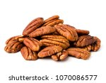 a bunch of peeled pecans on a...
