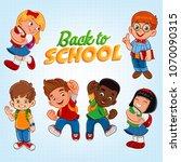 illustration for back to school | Shutterstock .eps vector #1070090315