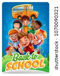 illustration for back to school | Shutterstock .eps vector #1070090321