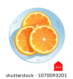 top view vector illustration of ... | Shutterstock .eps vector #1070093201