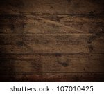 old brown wood floor texture | Shutterstock . vector #107010425