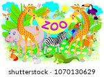 Poster For Zoo. Illustration O...