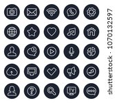 thin lines web icons   contact...