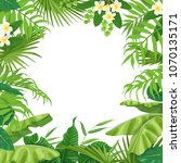 summer background with green... | Shutterstock .eps vector #1070135171