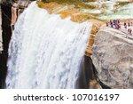 Vernal Water Fall In Yosemite...