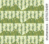 corn field pattern design... | Shutterstock .eps vector #1070176409