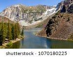 tioga pass in yosemite national ... | Shutterstock . vector #1070180225