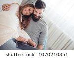 love family technology internet ... | Shutterstock . vector #1070210351