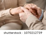 care and affection. close up of ... | Shutterstock . vector #1070212739