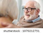 happy face. portrait of a... | Shutterstock . vector #1070212751