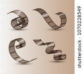 film strip roll. cinema tape... | Shutterstock .eps vector #1070228549