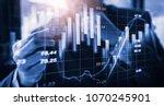 modern way of exchange. bitcoin ... | Shutterstock . vector #1070245901